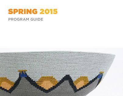 Morris Museum Program Guide - Spring 2015