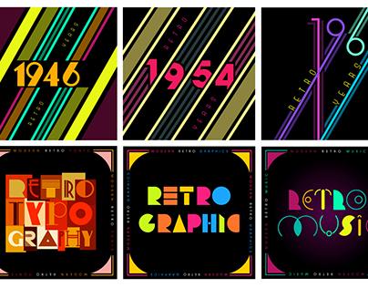 Retro Modern Book Cover (Newtro)