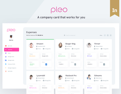 Pleo - A company card that works for you