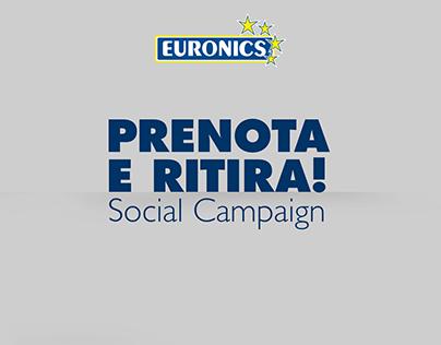 Euronics Italia - campagna prenota e ritira -
