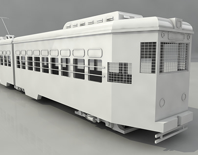 Tram 3d model for West Bengal Assembly Election 2021