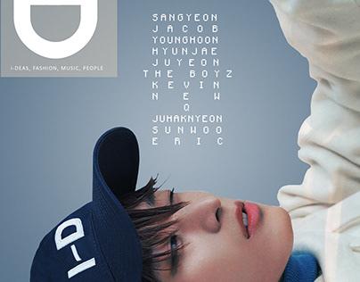 Juyeon TBZ i-D Magazine