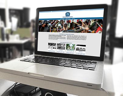 Webdesign for Fredbogård Fonden
