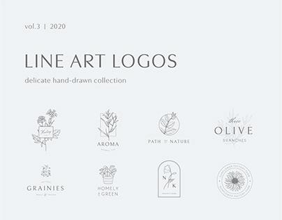 Line art logos   Vol. 3