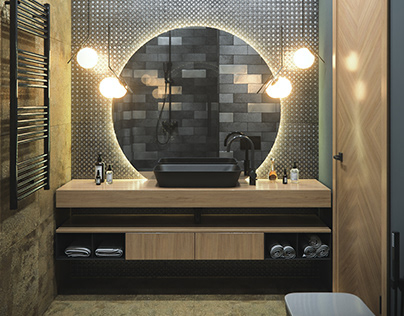 Visualization of a bathroom 13
