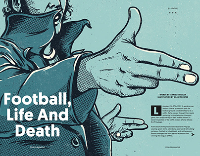 Pickles Magazine - Football Life And Death