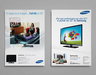 Publicidad: HP y Samsung
