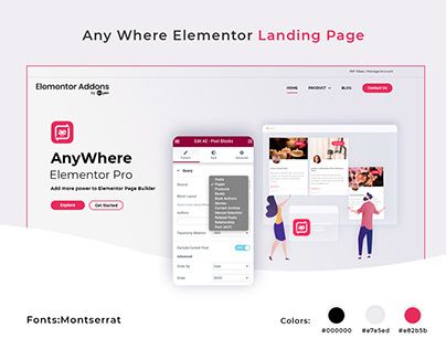 Website Design-creative landing page
