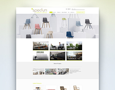 Specfurn - Web Design