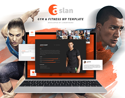 ASLAN - Modern Fitness WordPress Theme for Gym, Fitness