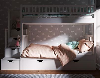 Baby Room & İstanbul - Corona Renderer