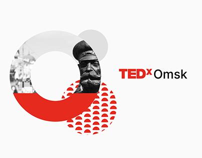 TEDxOmsk branding