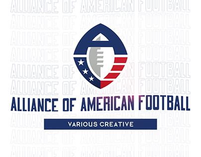 Alliance of American Football - Various Creative