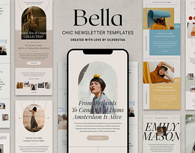 Bella - Chic Newsletter Templates