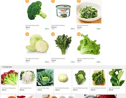 Freshvezy (NaPanta) - Ecommerce - Grocery Store
