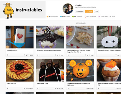 Instructables Contributions