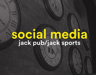 Social Media - Jack Pub