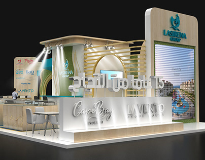 la sirena group exhibition stand (Epis & Aqari 2021 )
