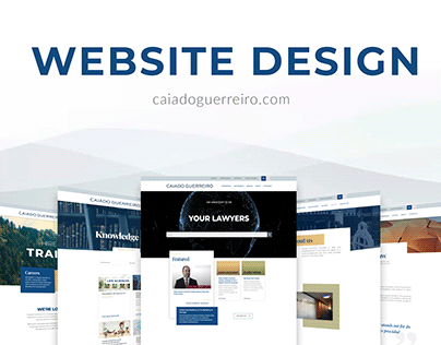 Website Design: Caiado Guerreiro