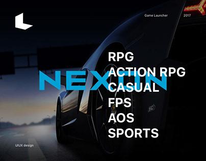 Nexon Game Launcher