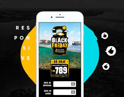 Black Friday Salinas Resorts webdesign