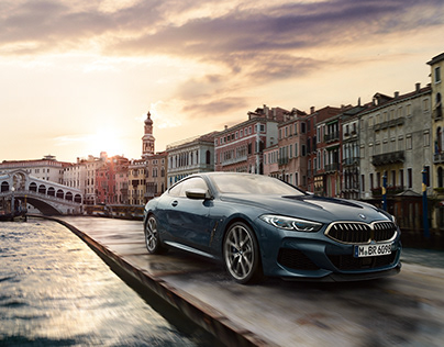 "BMW ""The 8"" Series Coupé in Venice"