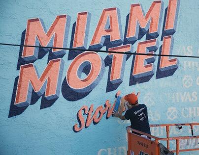 Miami Motel Stories Mural