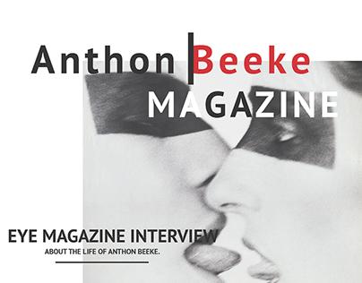 ANTHON BEEKE // MAGAZINE