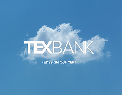 Redesign concept for Texbank