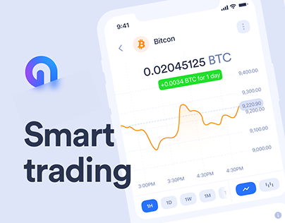 Trading cryptocurrency iOS application