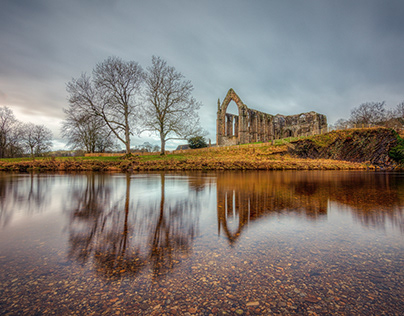 Cloudy Bolton Abbey