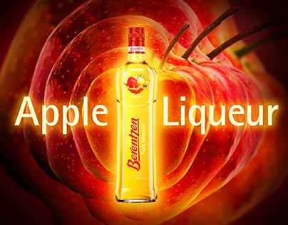Berentzen - Apple Liqueur advertising key visual