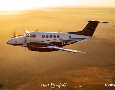 KingAir 200 Air to Air