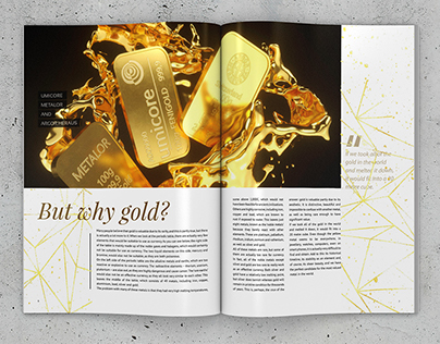 Gold Bullion Editorial & 3D Visualization Collaberation