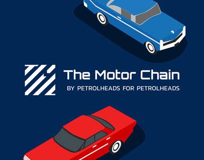 The Motor Chain | Identity + Landing page | Blockchain