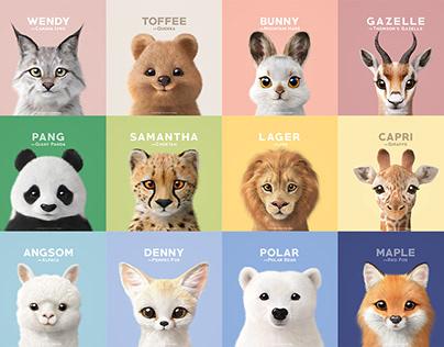Sugar Cat & Candy Doggie : Wildlife 2020