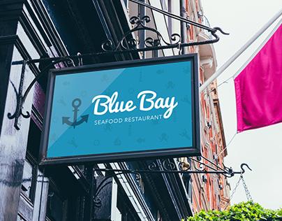 || Branding ||  Blue Bay seafood restaurant