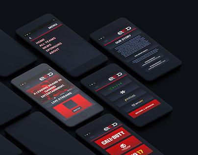 Red Reserve App Design