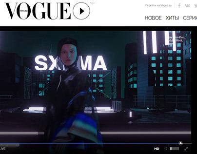 SXEMA - Neural network art integrated into 3d clothes