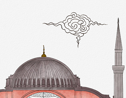 Ayasofya-i Kebîr Cami-i Şerîfi - illüstrasyon