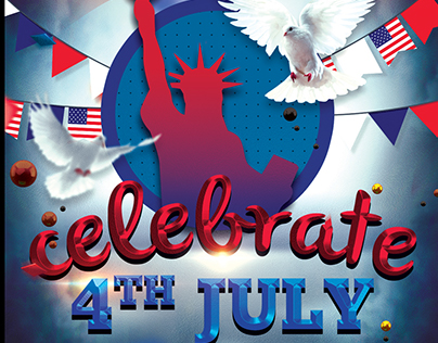 4th of July Celebrate Event Flyer