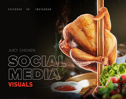 Chicken Social Media Visuals