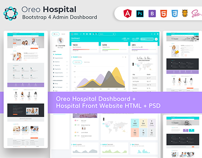 Oreo Hospital Admin with Frontend