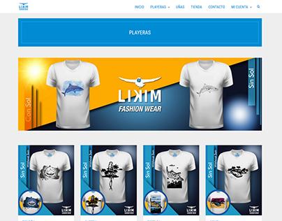 Página Web con Carrito de Compra (CMS)