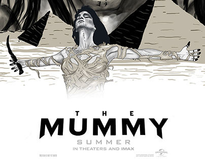 The Mummy Poster Design for Talenthouse Contest