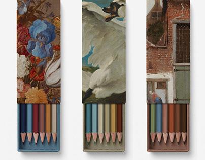 Masterpiece Paint Pencils