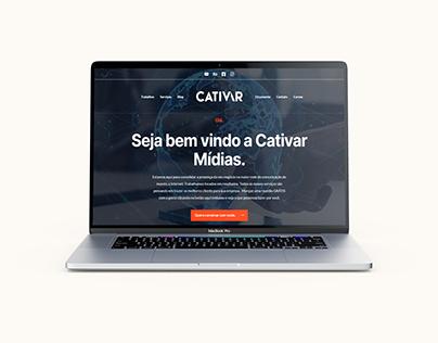 Novo Site da Cativar Mídias
