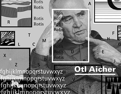 Type Designer - Otl Aicher