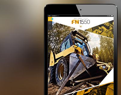 App: Heavy machinery catalog