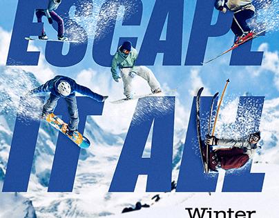 Winter Park Social Media Graphics